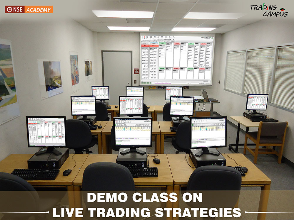 demo streaming class on live trading strategies
