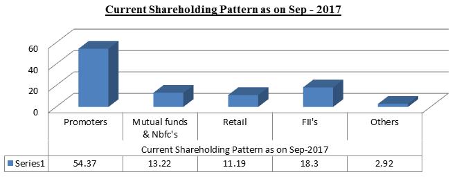 Balkrishna Industries limited stock share holding pattern