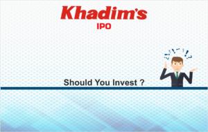 khadim india ipo